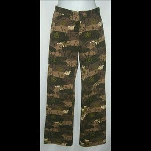 ISIS Los Angeles Military Army Green Camo Pants S